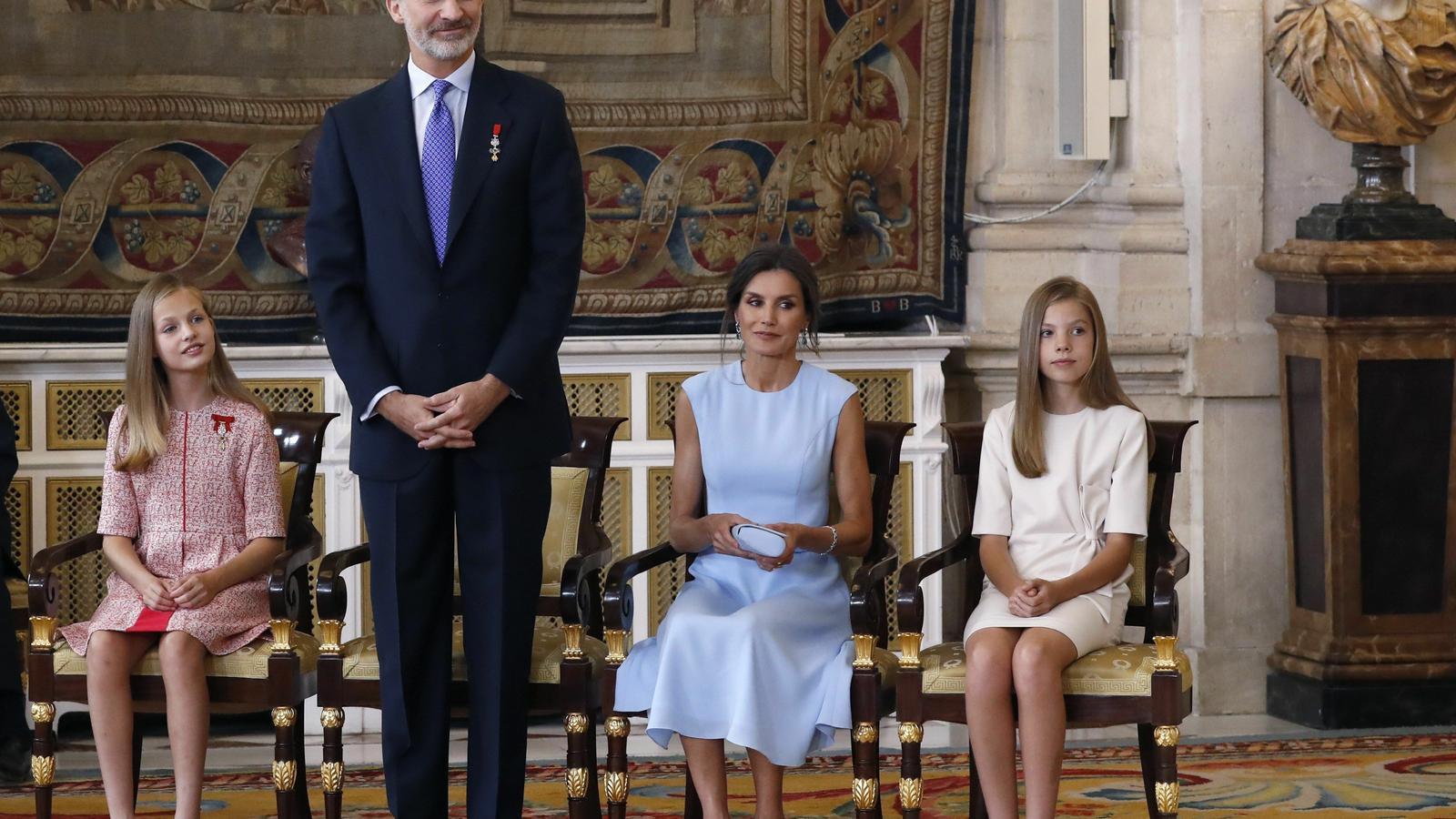 El pressupost de la casa reial puja un 6,9%, fins als 8,4 milions d'euros