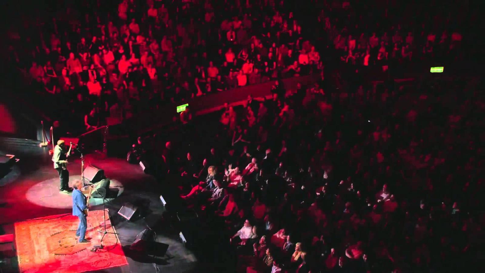 Clapton durant un concert al Royal Albert Hall el passat setembre