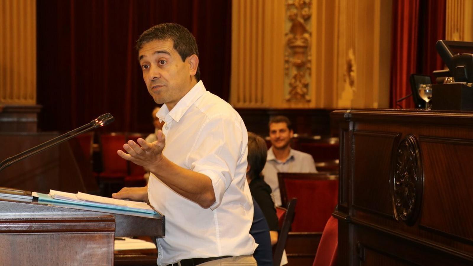 Nel Martí reivindica el paper de la Llei de Consultes Populars i considera que s'ha de defensar des del Govern Balear.