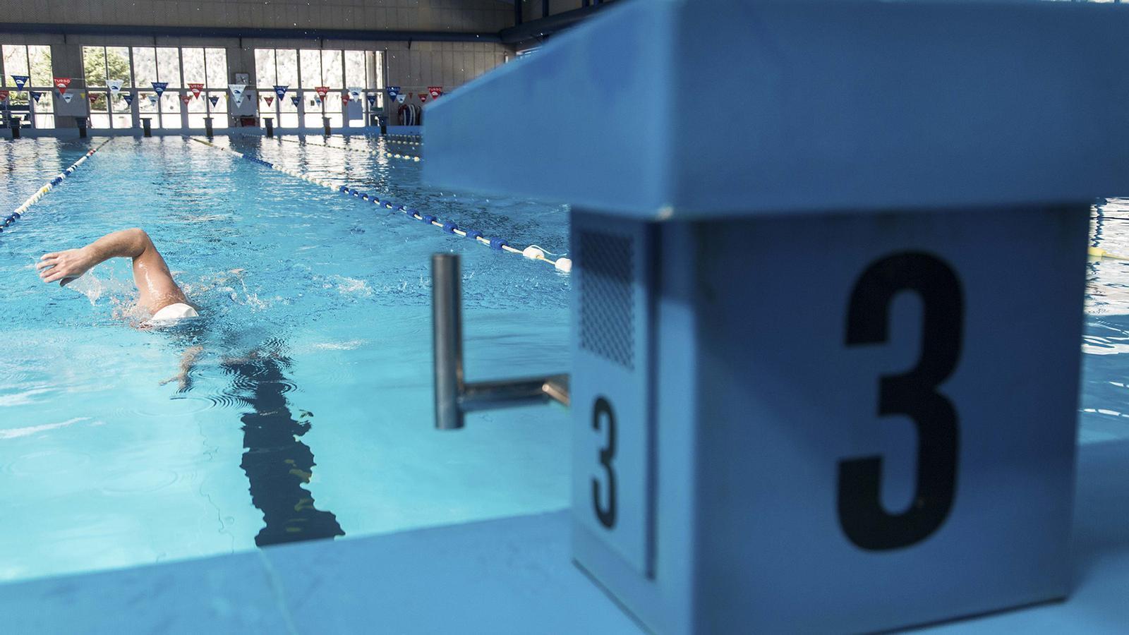 La piscina dels Serradells. / ARXIU ANA