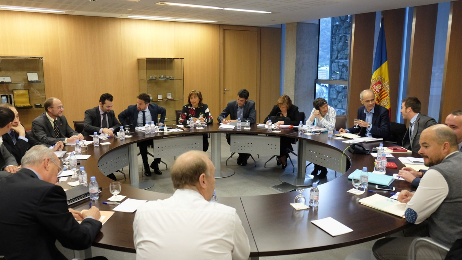 Reunió d'aquest dilluns entre els grups parlamentaris, el Govern i els comuns / M.T. (ANA)