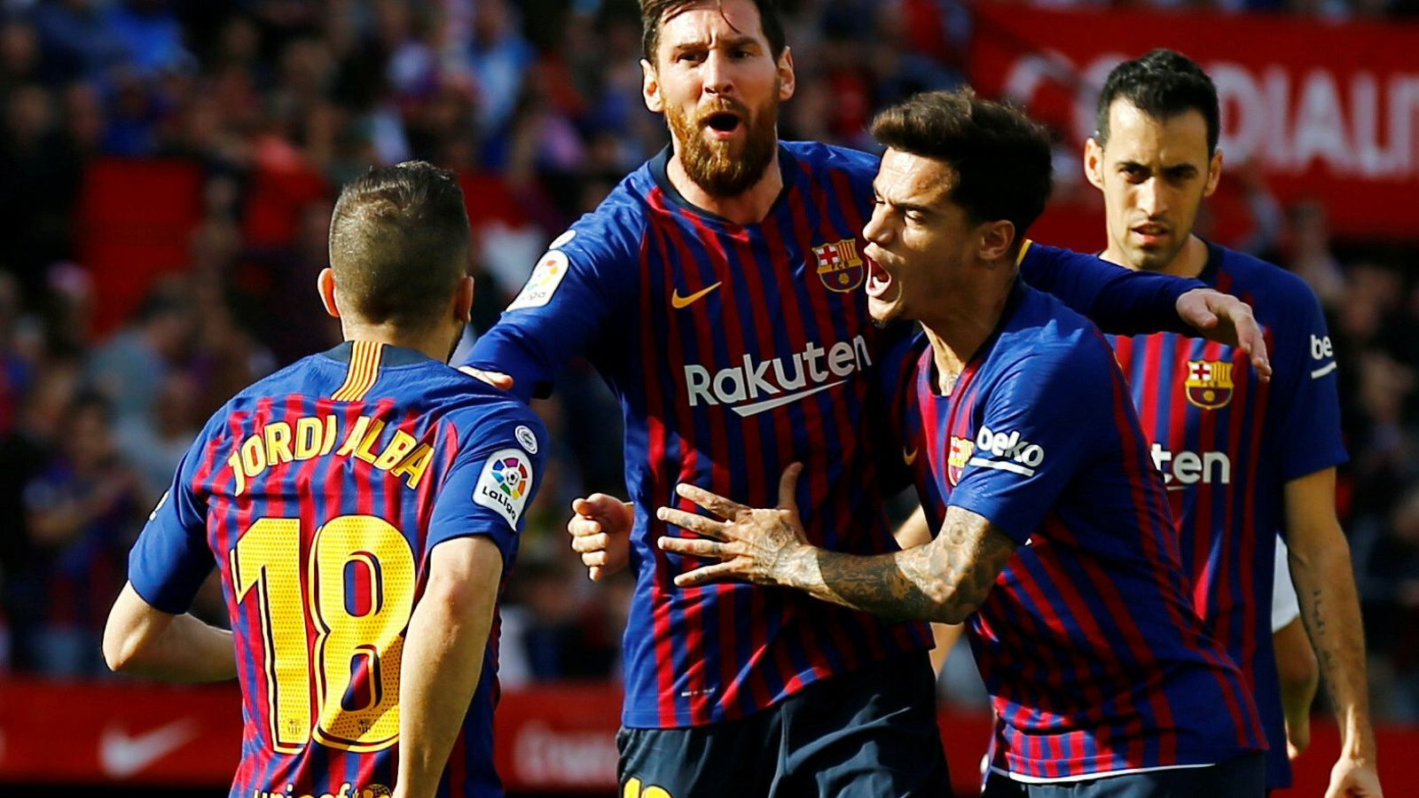 Leo Messi, golejador a Sevilla