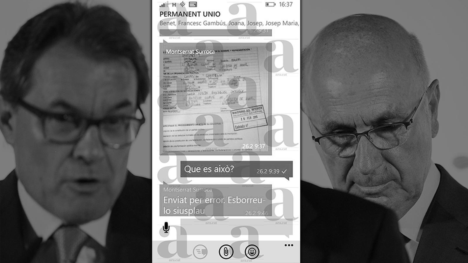L'editorial d'Antoni Bassas: 'Whatsapps' delators i altres causes de divorci (17/06/2015)