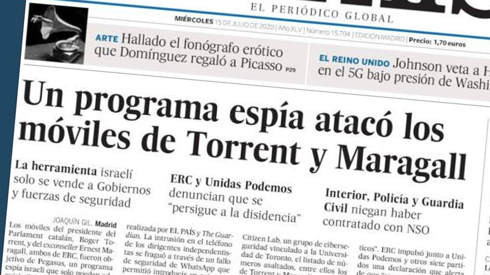 L'anàlisi d'Antoni Bassas: 'Espionatge polític: la resposta inadmissible del govern espanyol'
