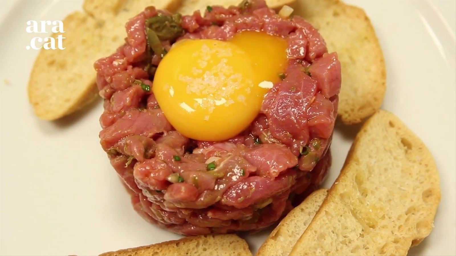 Steak tartar del Filete Ruso