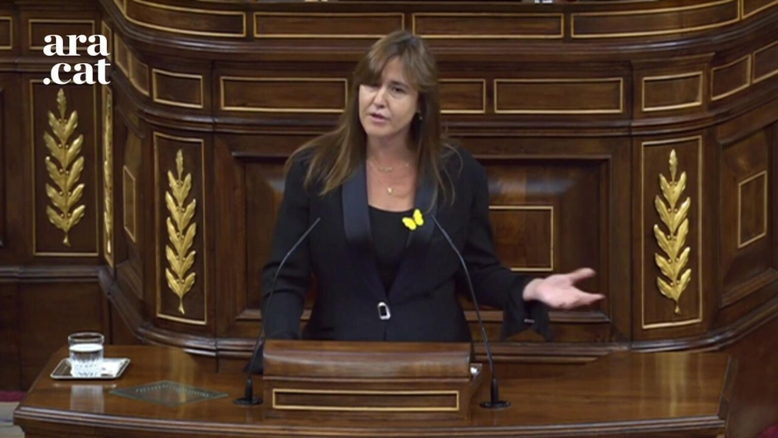 """Borràs: """"En lloc de convèncer, coaccionar. Democràcia 'made in Spain', democràcia en demolició"""""""