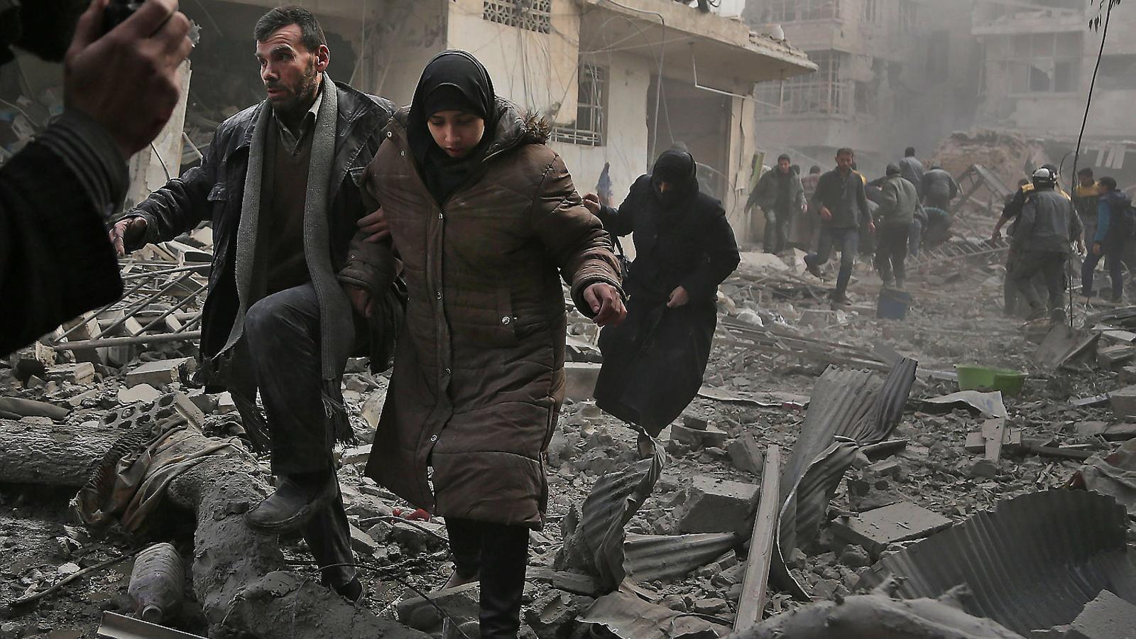 Tropes sirianes entren a Afrin