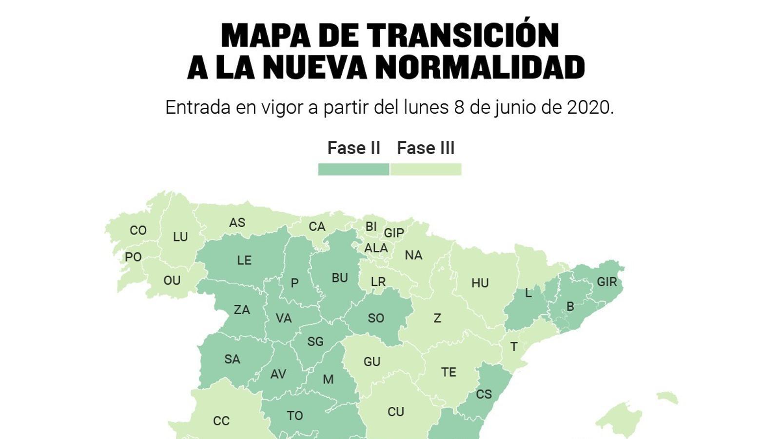 Sanitat autoritza que Barcelona, l'àrea metropolitana i Lleida passin a la fase 2