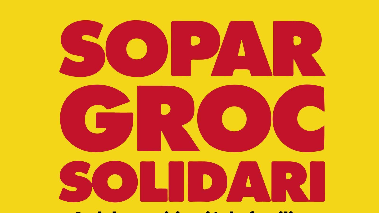 Dia 12 de maig, sopar groc solidari, amb la participació de familiars de presos i exiliats polítics