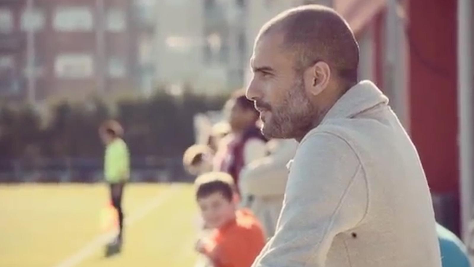 Guardiola busca la nova estrella del futbol a l'últim anunci de Nike