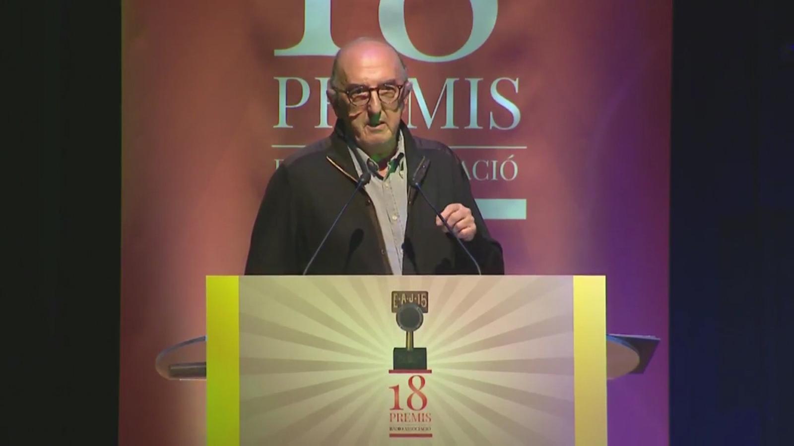 Discurs de Jaume Roures a la gala d'entrega dels premis de Ràdio Associació de Catalunya