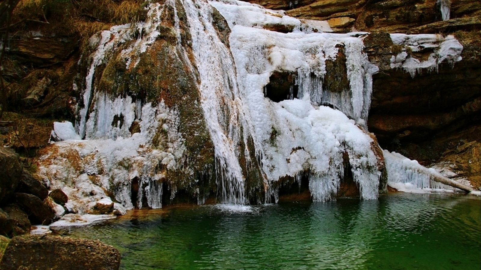 Fred arreu i neu al Pirineu