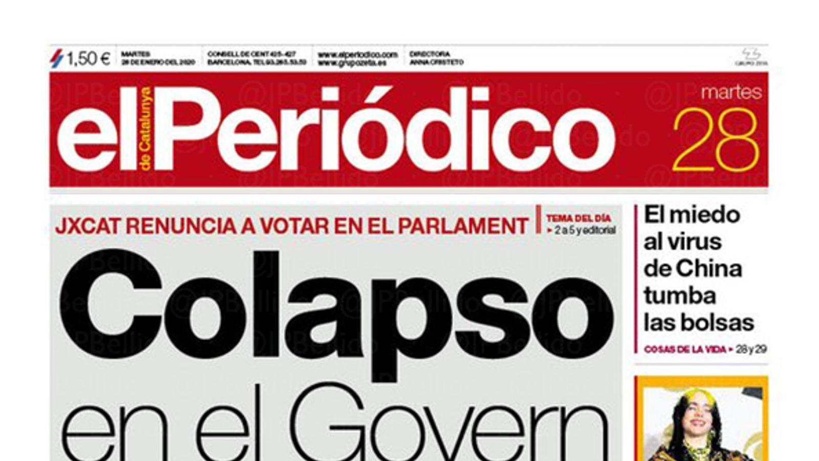 portada periodico 28/01/20