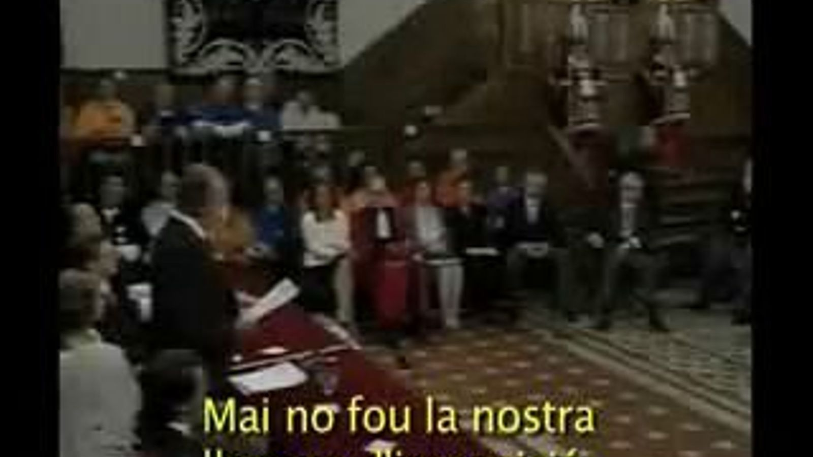 L'acte en què Joan Carles I va dir que el castellà mai havia estat una llengua imposada