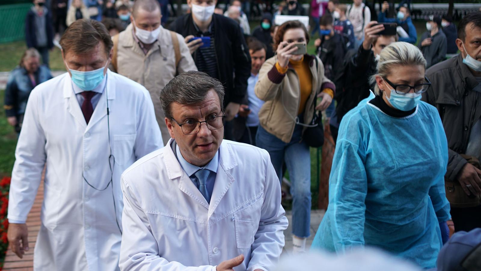 Alemanya intentarà salvar la vida al líder opositor rus Navalni