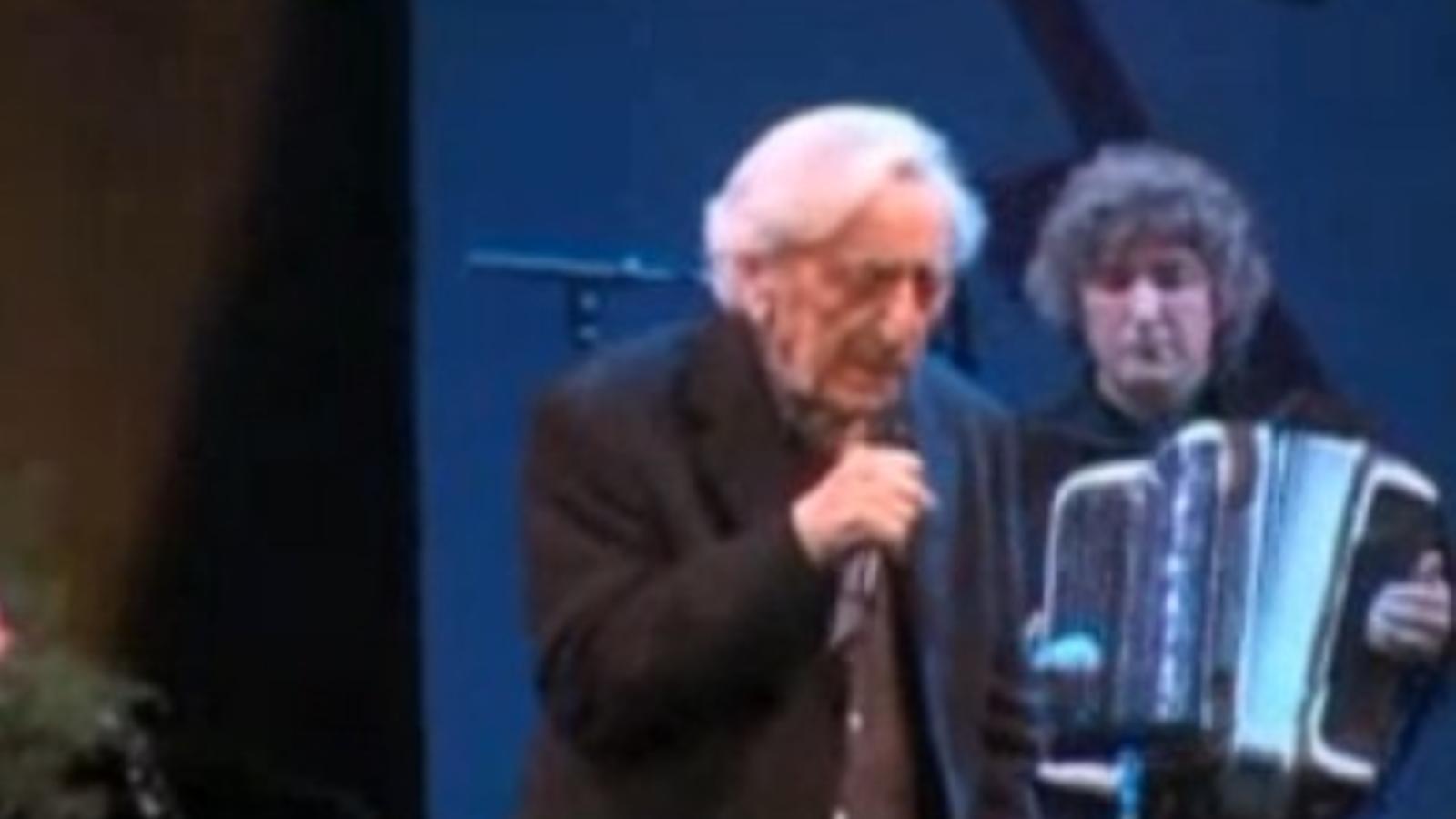 Jordi Barre, en concert l'any 2006