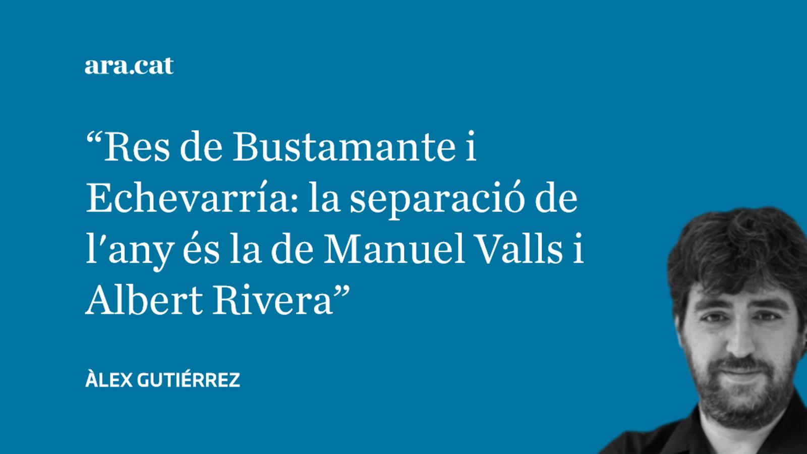 Alguns són més de Valls, d'altres són més de Rivera