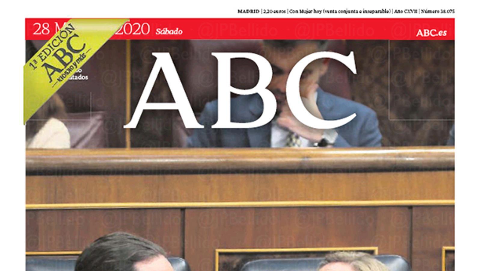 portada abc 28/03/20