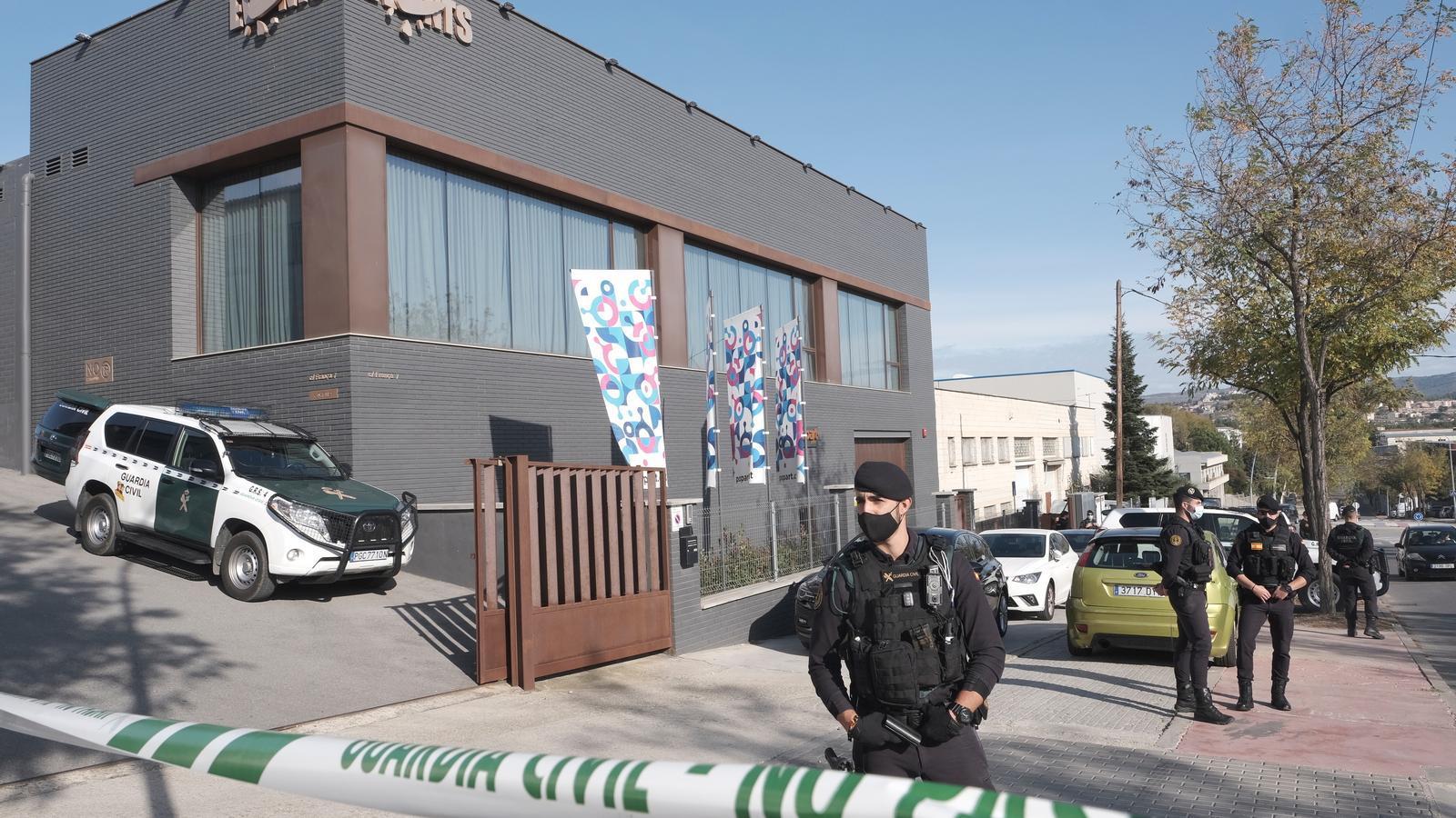 L'escorcoll a l'empresa Events, de la qual Antoni Fusté, un dels investigats, és administrador