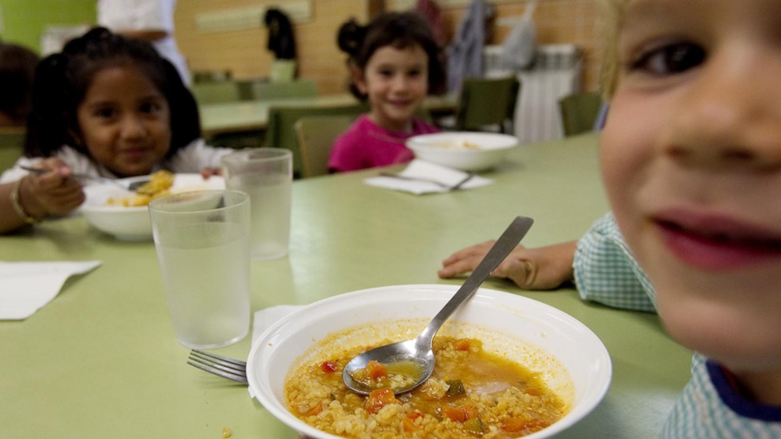 Un menjador escolar / PERE TORDERA