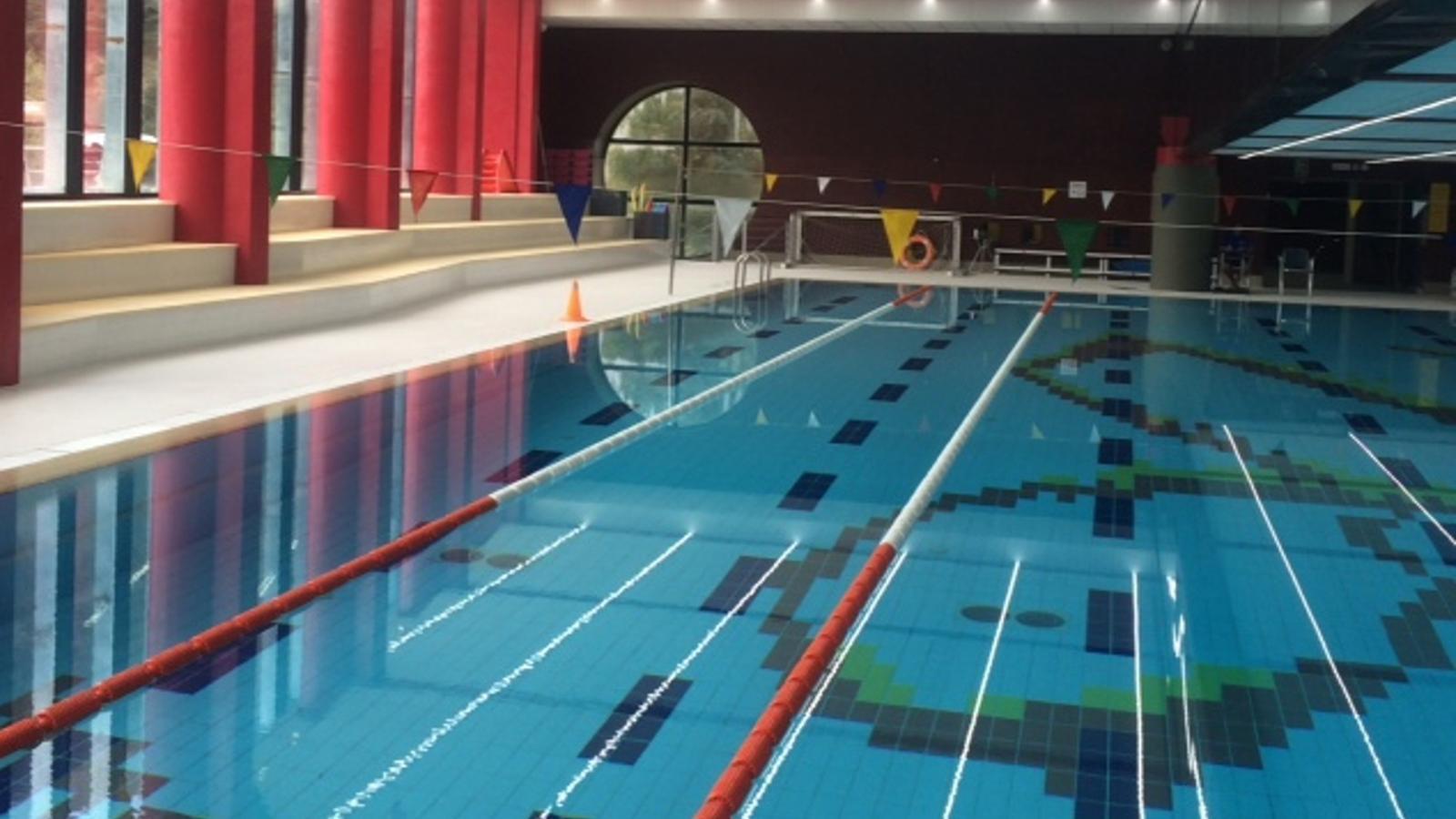 Piscina del Centre Esportiu d'Ordino