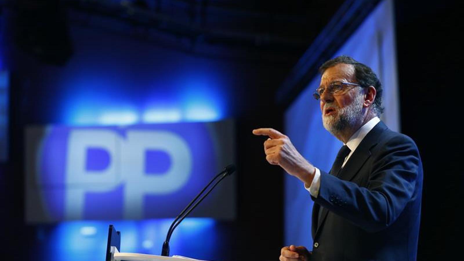 El president del PP, Mariano Rajoy