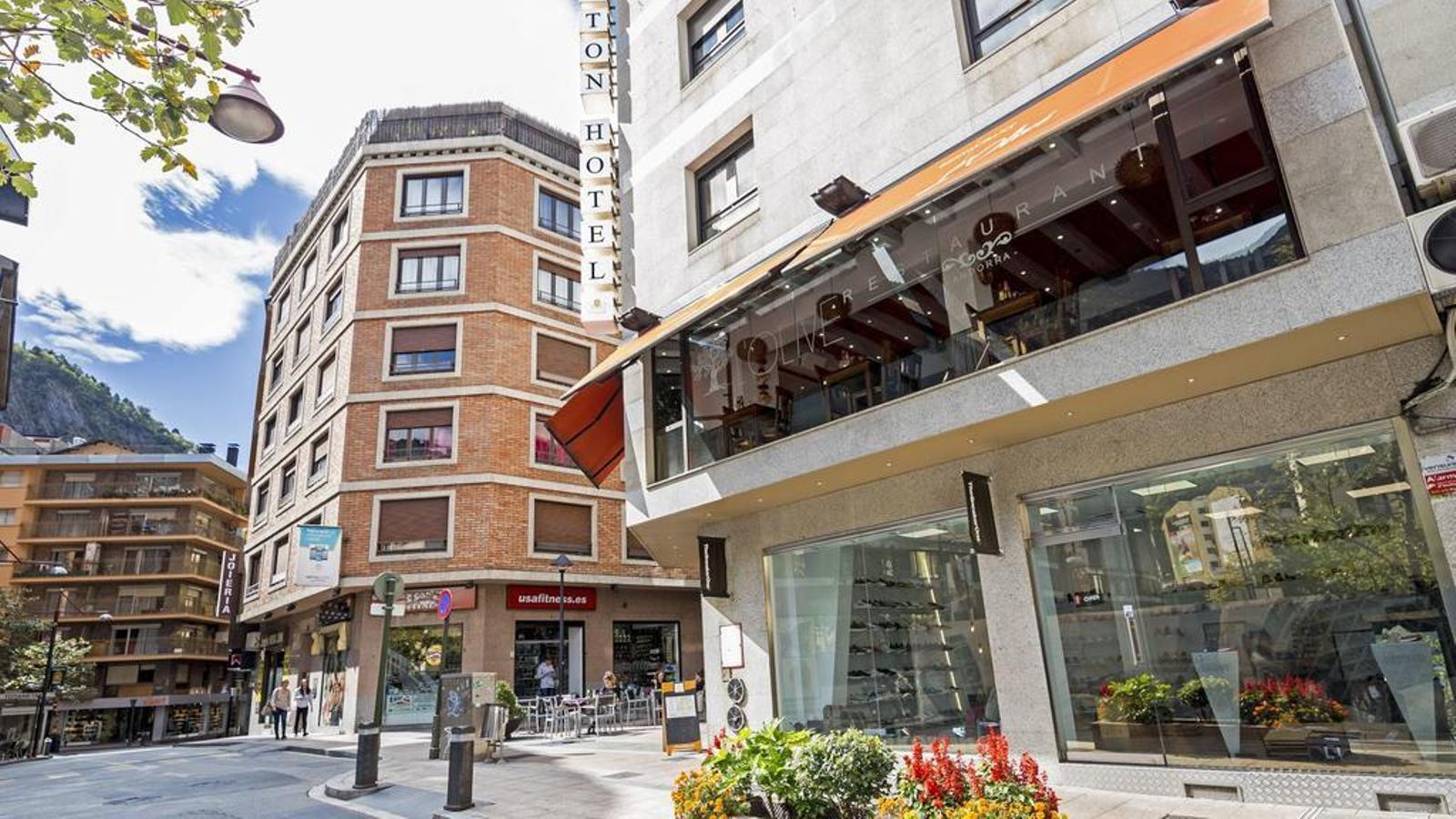 Un hotel d'Andorra la Vella. / ASTON HOTEL