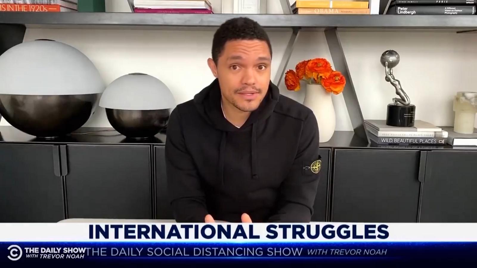 Trevor Noah parla a 'The Daily Show' dels policies locals d'Algaida