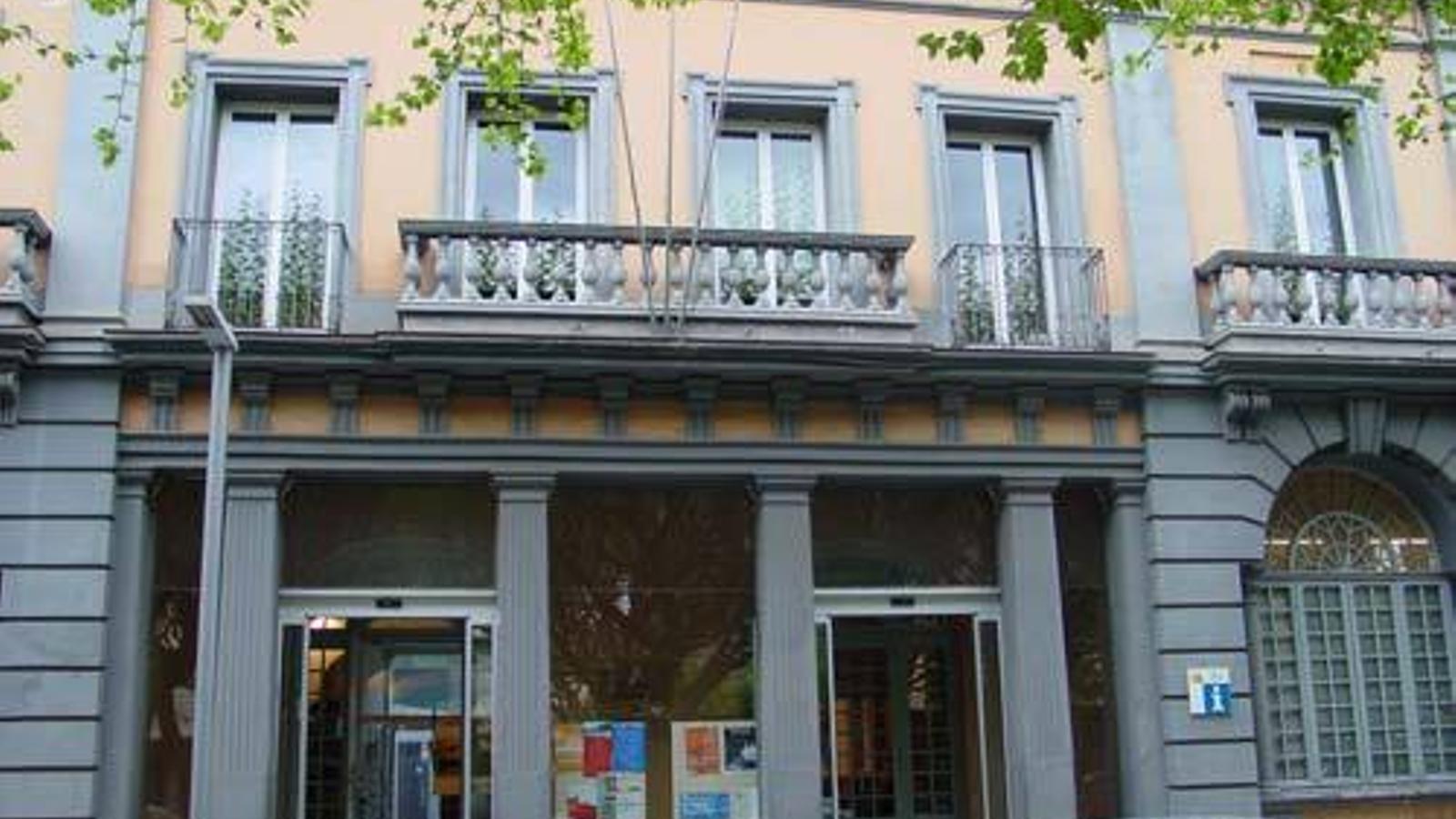 Seu del Consell Comarcal de l'Alt Urgell. / CCAU