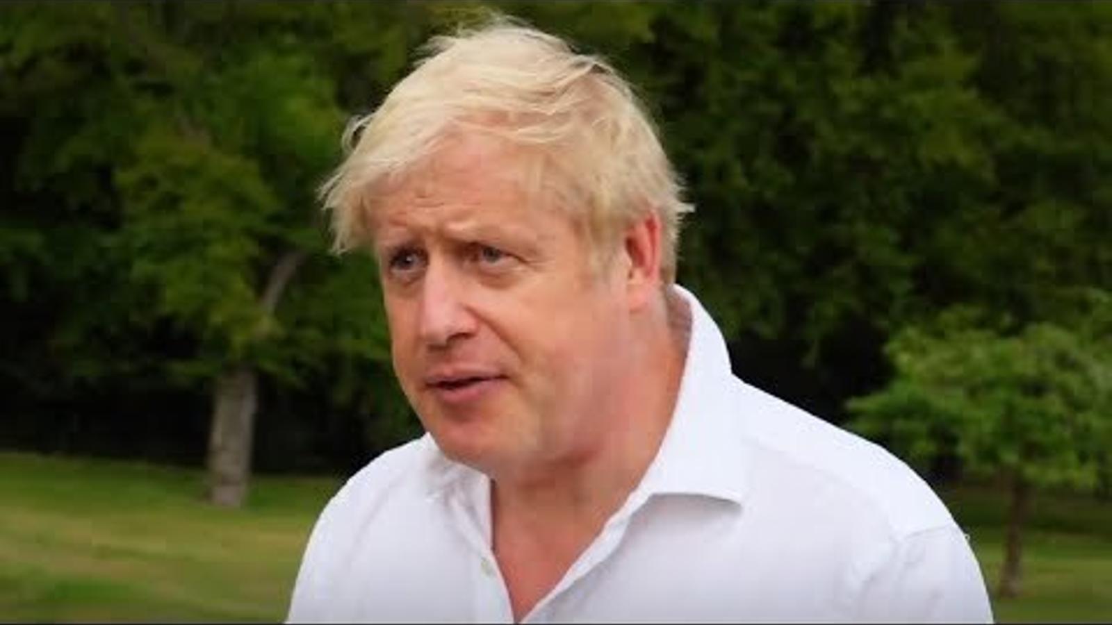 "Johnson diu que estava ""massa gras"""