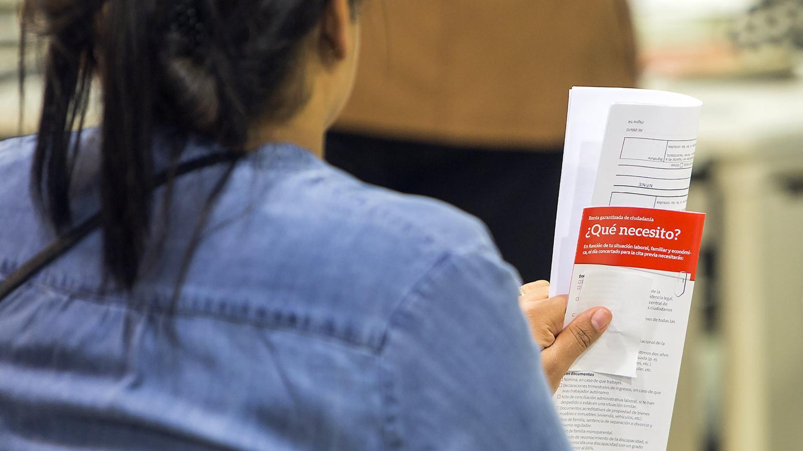 La renda garantida de ciutadania deixa fora col·lectius vulnerables