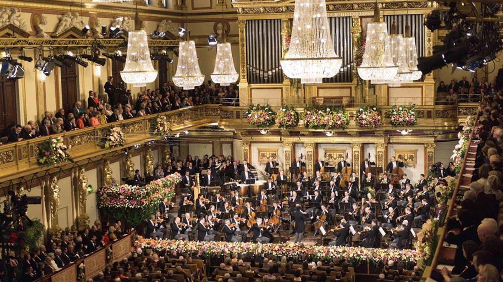 ¿Un Concert de Cap d'Any a Viena sense aplaudiments a la sala?