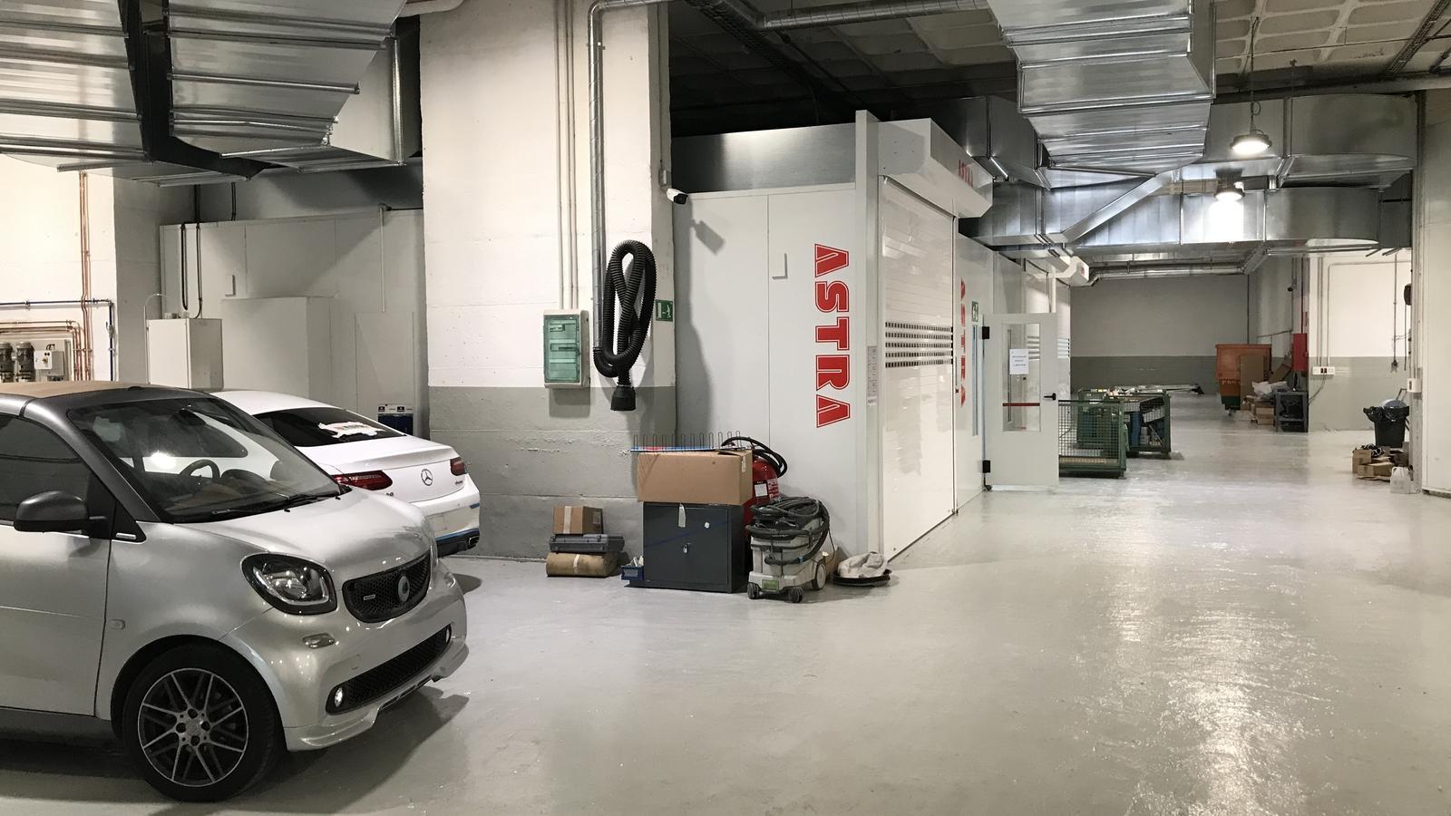 El nou centre de carrosseria de Pyrénées entrarà en funcionament aquest dilluns. / ANA ECONOMIA