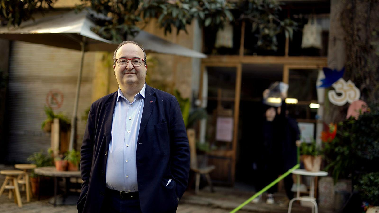 """Miquel Iceta: """"M'agradaria una reforma combinada de l'Estatut  i la Constitució"""""""