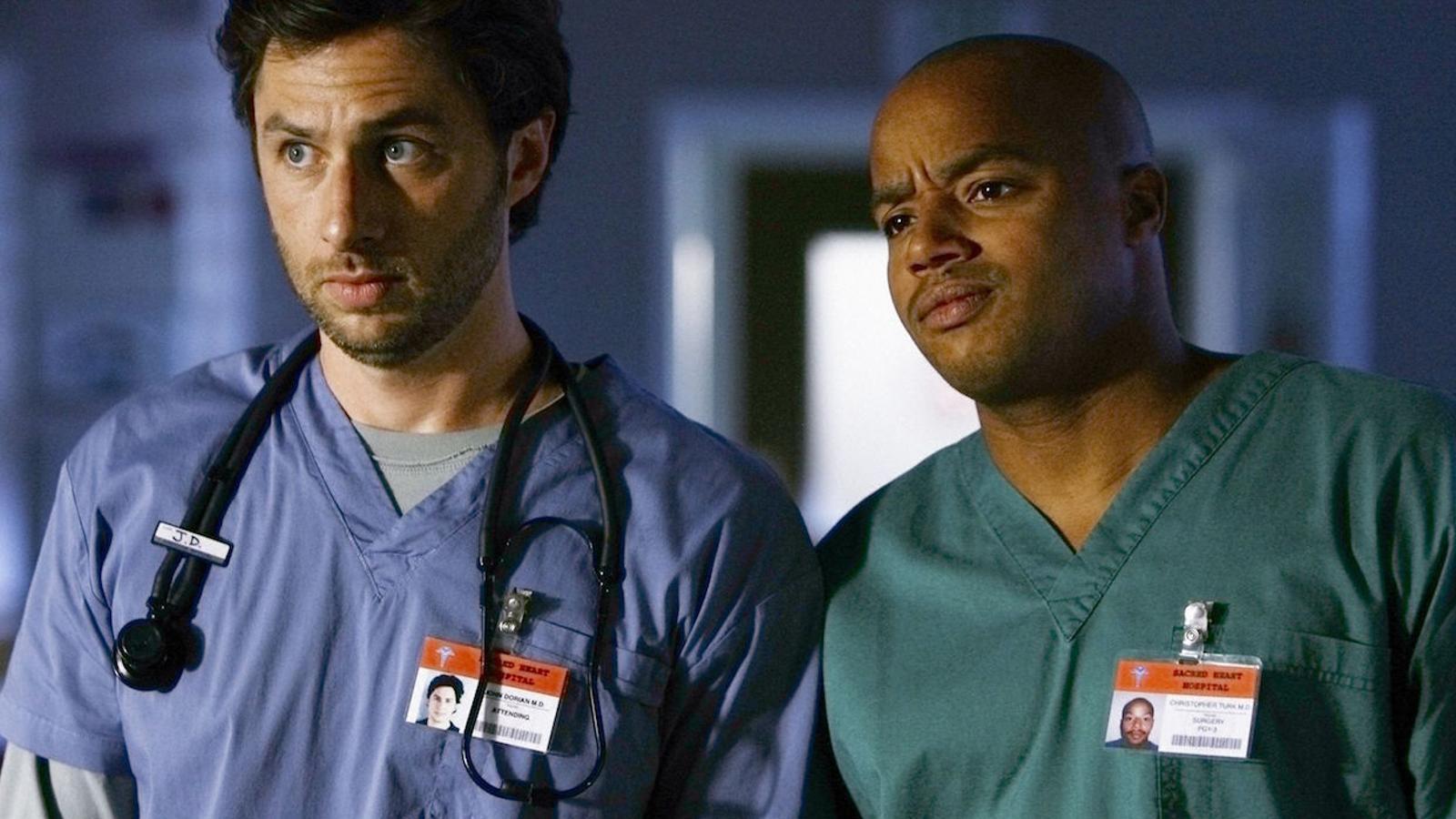 La revisió del 'blackface' s'endú també tres episodis de la sèrie 'Scrubs'