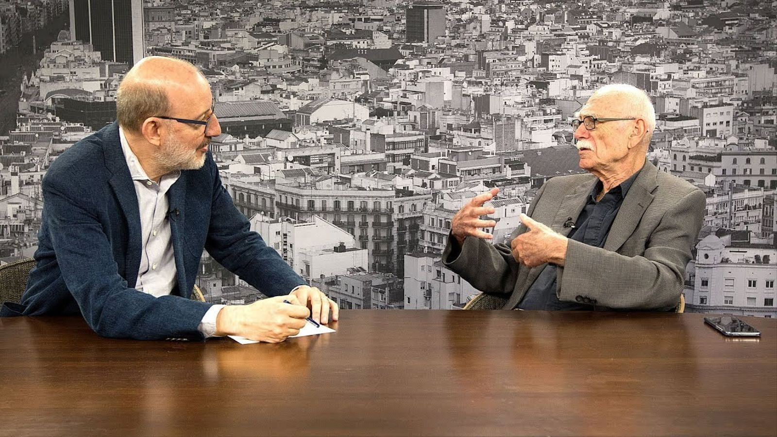 Entrevista d'Antoni Bassas a Itamar Even-Zohar