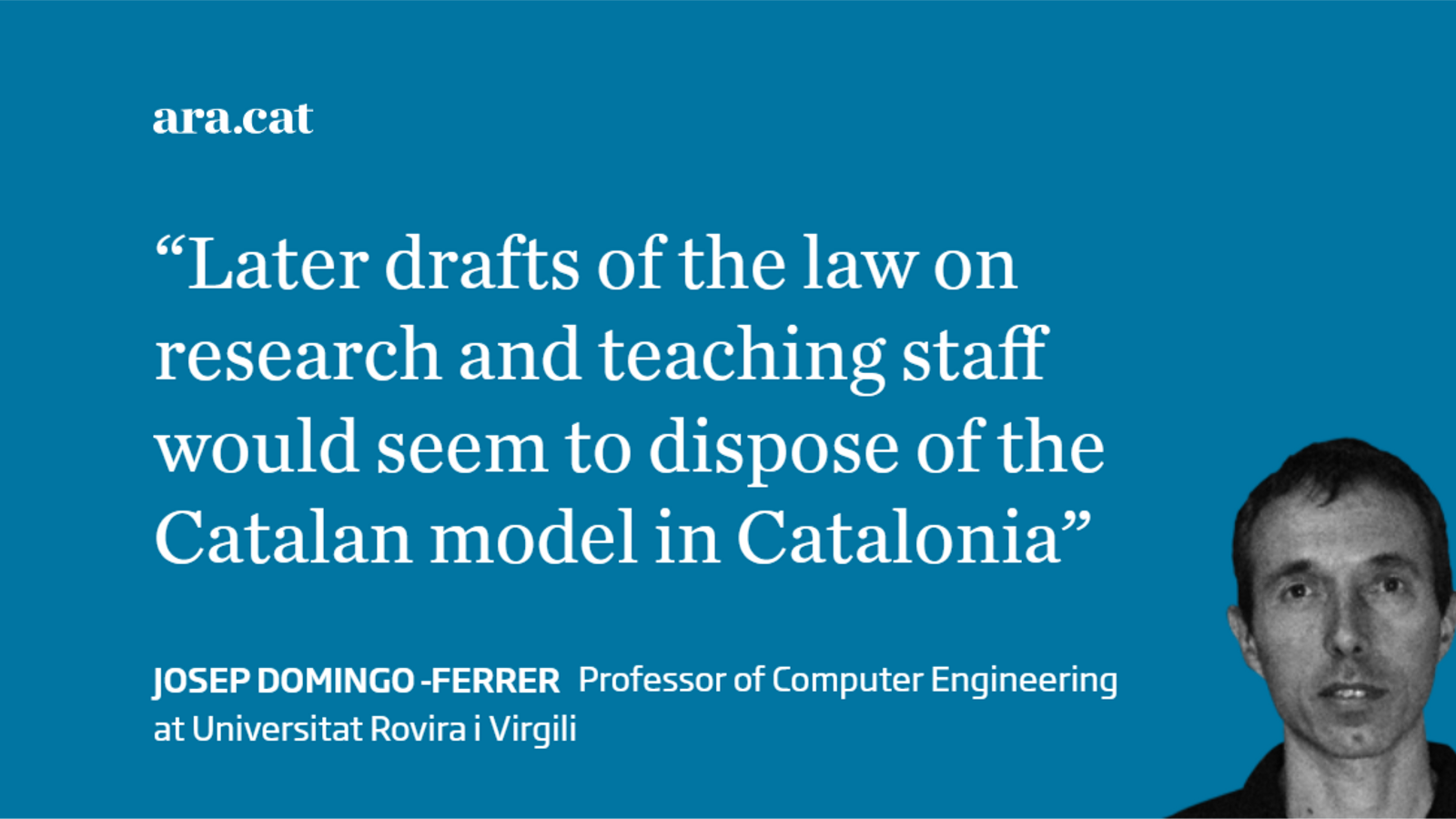 Catalonia's devolved powers in university education