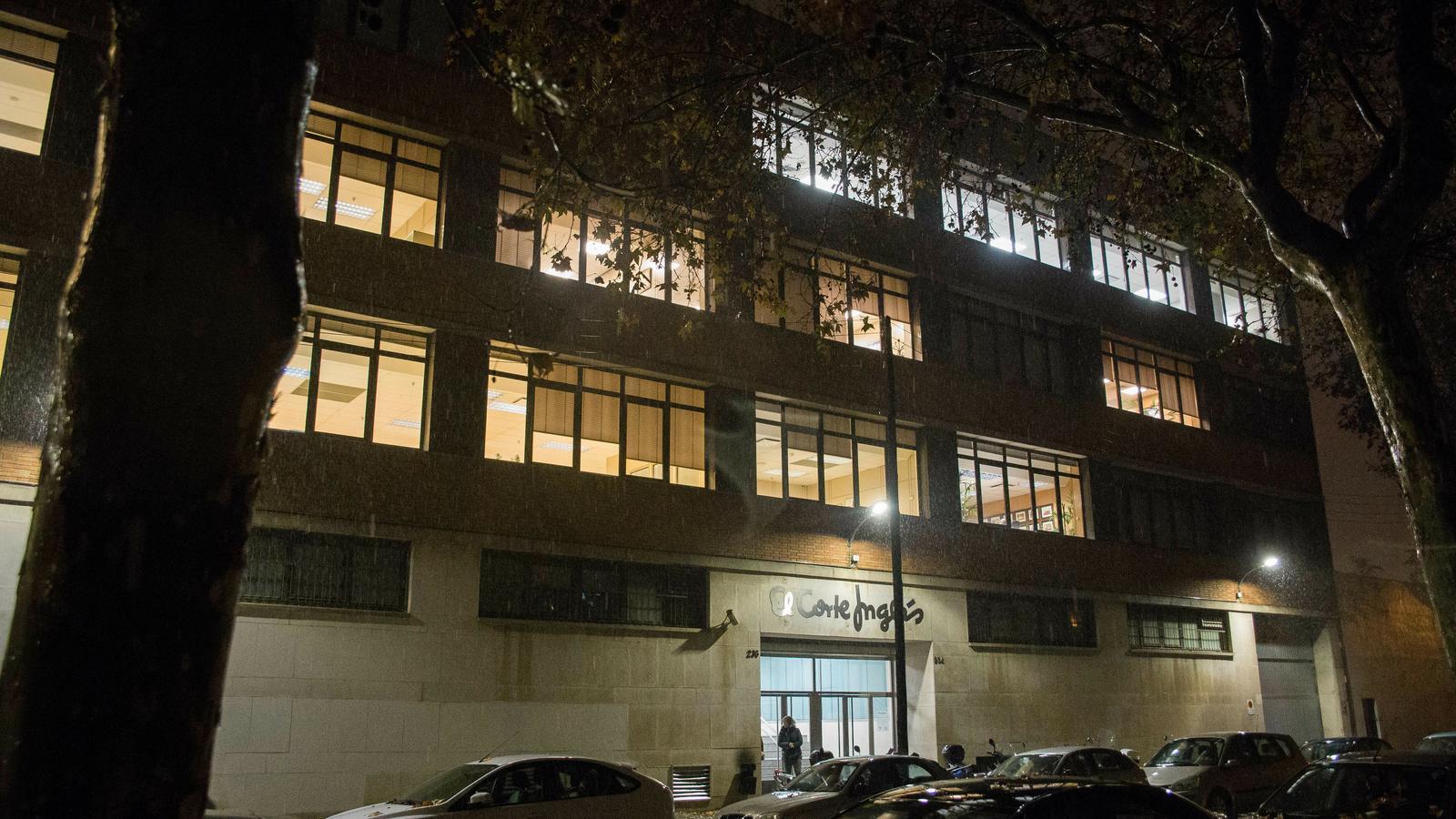 El Corte Inglés posa a la venda l'edifici on té la seu central a Barcelona