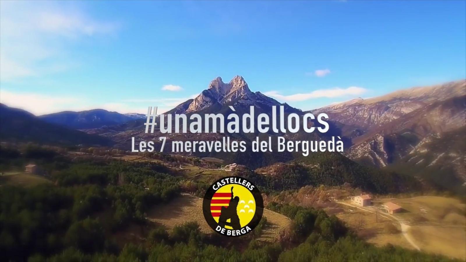 Els castells visiten les 7 meravelles del Berguedà