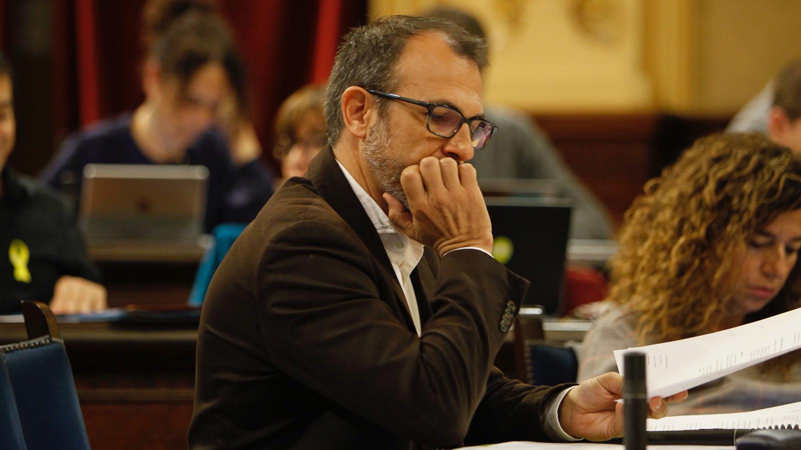 El vicepresident del Govern, Biel Barceló