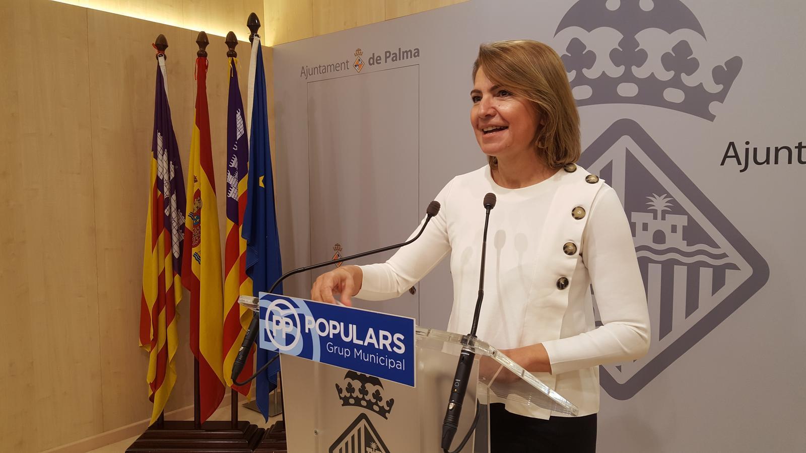 La portaveu del PP de Palma, Marga Duran