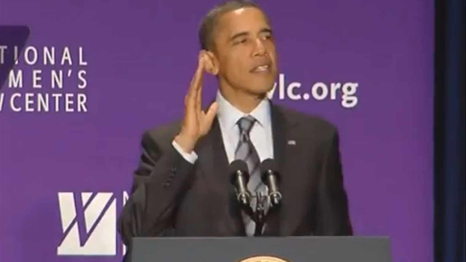 Obama canta 'Born this way' de Lady Gaga