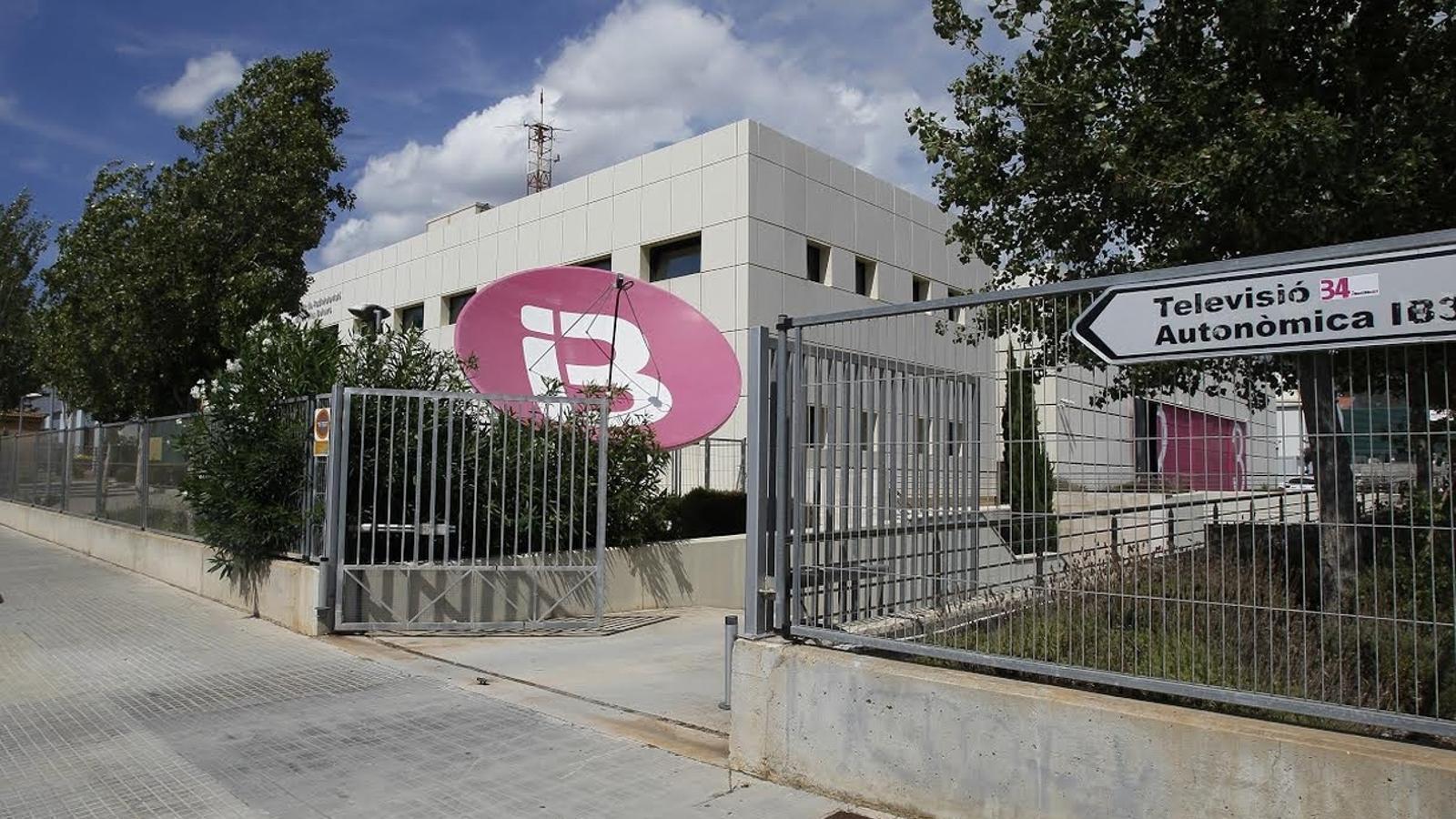 Seu central d'IB3 a Calvià