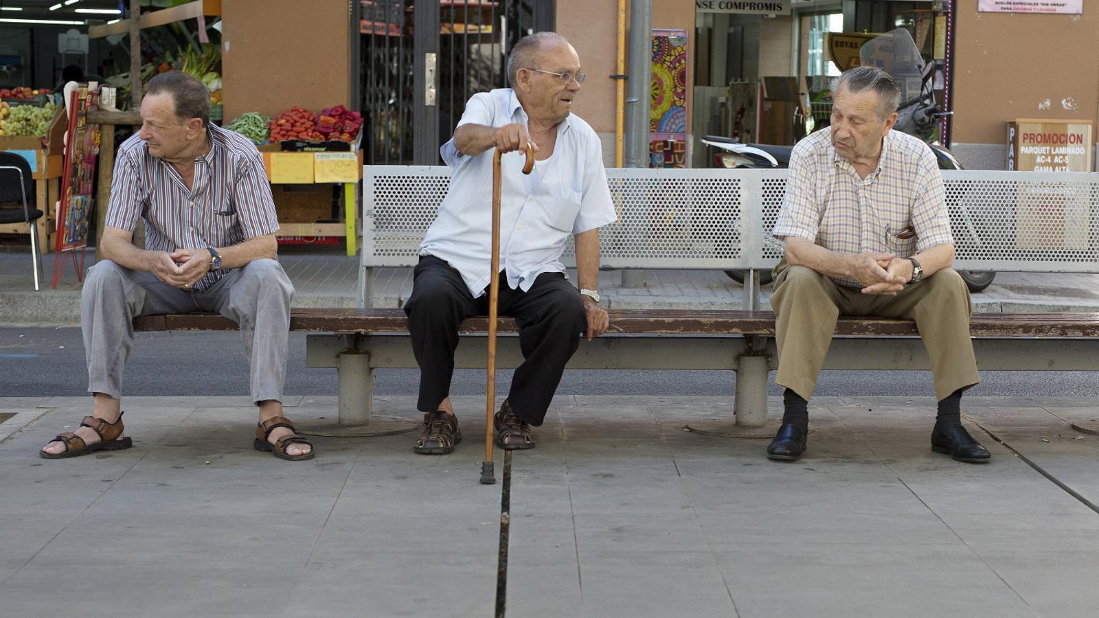 Catalunya és la comunitat amb més pensionistes i el País Basc és on cobren més