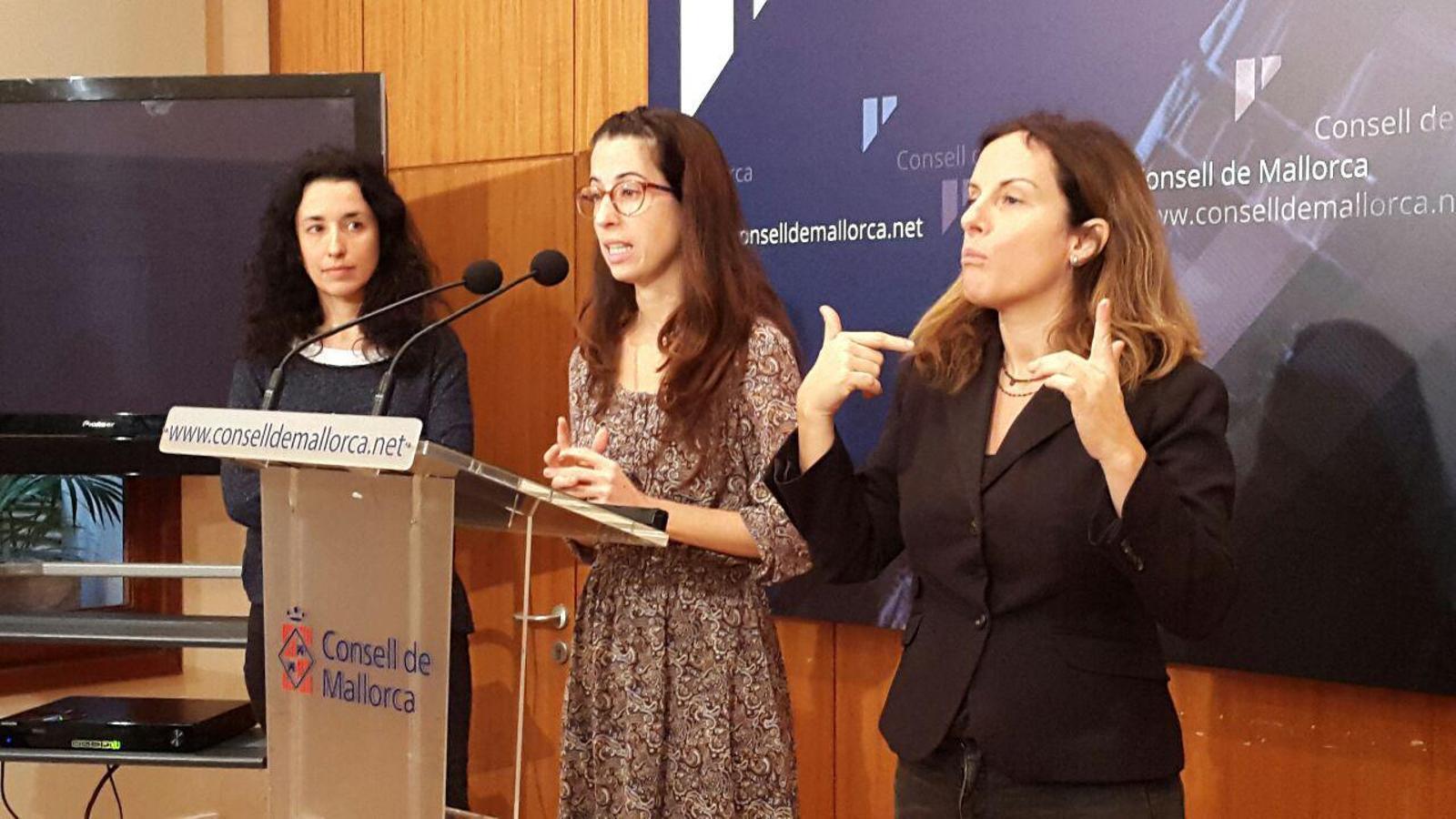 La consellera Sandra Espeja ha explicat les noves tarifes.