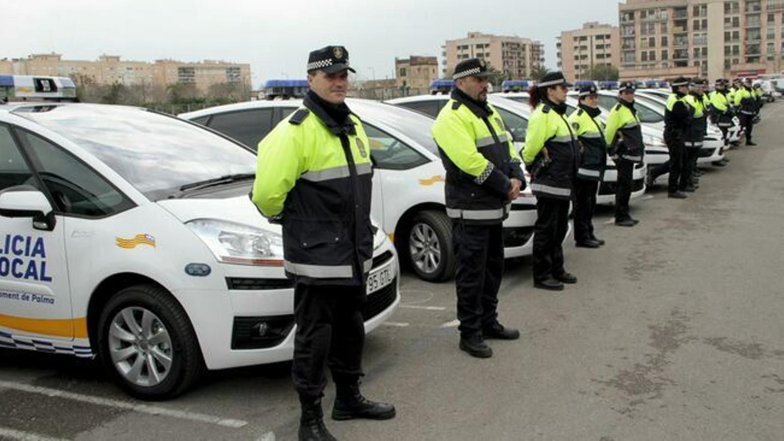 Imatge d'arxiu de la Policia Local de Palma