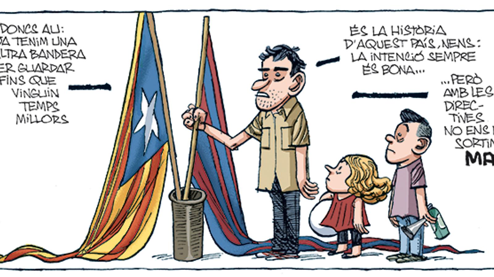 'A la contra', per Manel Fontdevila (17/08/2020)