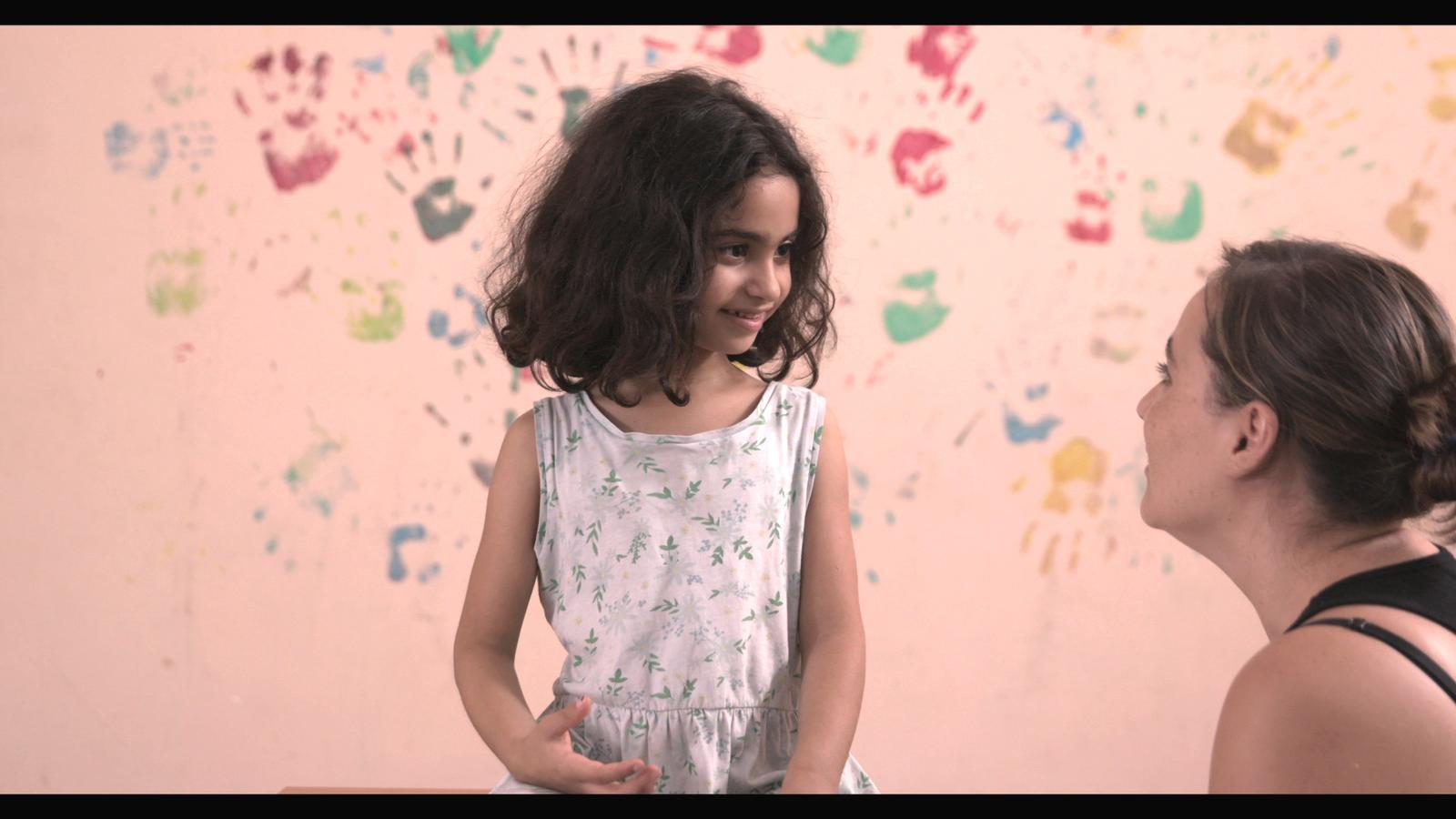 Imatge del rodatge de 'Nuestra vida como niños refugiados en Europa'