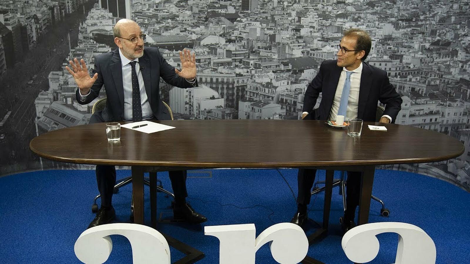 Entrevista d'Antoni Bassas a Pau Relat