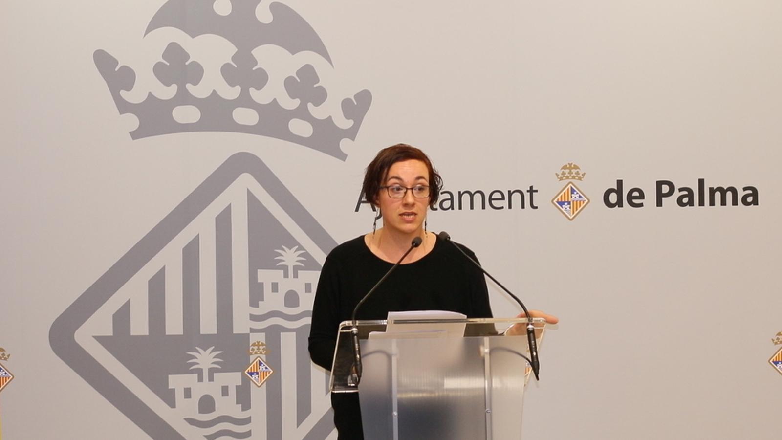 Joana M. Adorver, presidenta de la societat Palau de Congressos